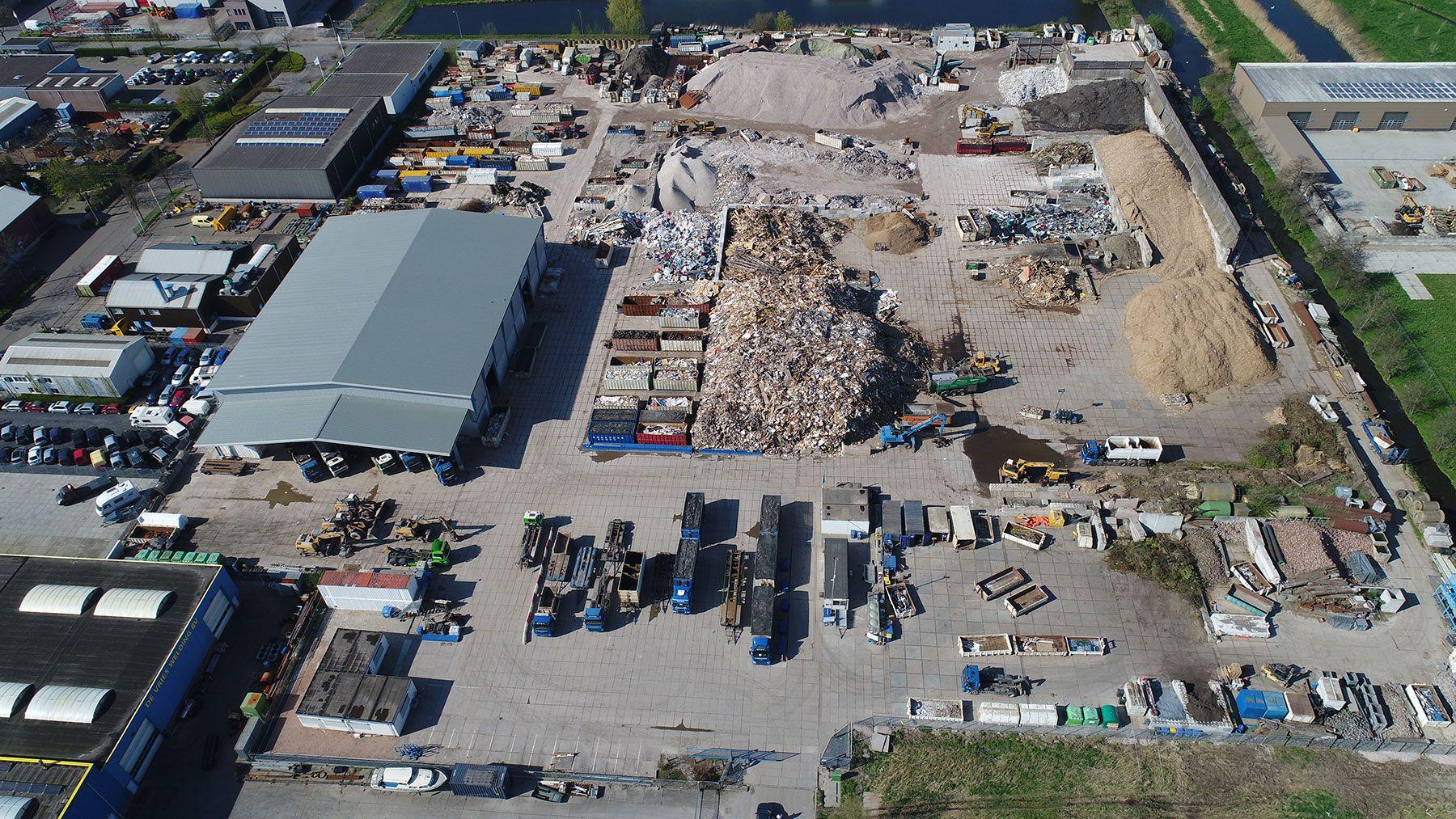 Afvalcontainers Midden Nederland Container Huren Recycling Centrale Korevaar (RCK)