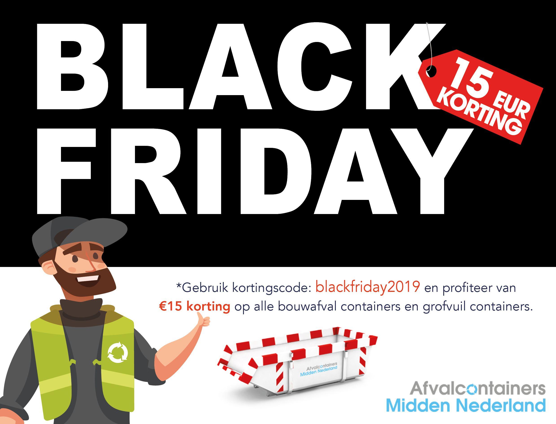Black Friday 2019 - Midden NL